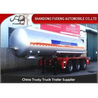 China 36000 to 59600 Liters LPG Tank Trailer For Liquefied Propane Gas Transportation on sale
