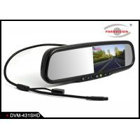 Quality Inbuilt HIFI Speaker DVR Mirror Monitor 140 Degree Lens With Replacement Mounting wholesale