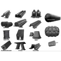 Cheap French Warships Rubber Elements Marine Rubber Fender for Dock , CCS ISO 17357 for sale