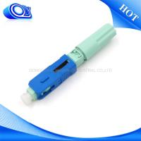 China Field Assembly SC Type Fiber Optic Connector Low Insertion Loss For CATV Links on sale