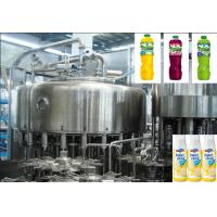 Quality PET / Glass Bottle Fruit Juice Hot Filling Machine for packing wholesale