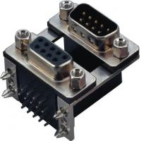 Buy cheap Female Male Db9 Connector Dual Row Right Angle D SUB FOR Communication from wholesalers