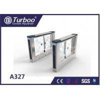 Quality Compact Design Office Security Gates , Stainless Steel Swing Gate Turnstile wholesale