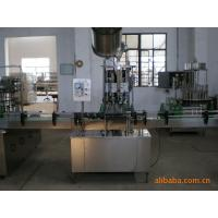China Automatic glass bottle crown caps capping machine / beer bottle cap sealing machine on sale