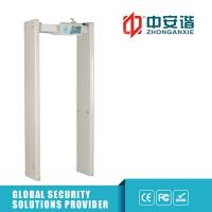 China Multi Zone Door Frame Metal Detector Walkthrough LED Screen 400 Sensitivity on sale