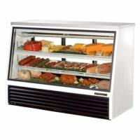 China Fast Cooling Refrigerated Deli Case , Commercial Meat Display Cases on sale