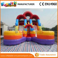 Inflatable Water Slide Usa: Cheap 1 Year Warranty Kids Water Slide Inflatable Floating