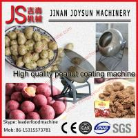 Quality Low Noise Peanut Coating Machine Automatic 35 - 50 kg / time wholesale
