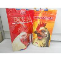 Buy cheap OPP / VMPET / PE Stand up Metalized Aluminum Foil Pouch Packaging product