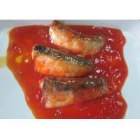Quality NW 425g / DW 235g Canned Fish / Canned Sardines In Tomato Sauce wholesale