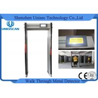 Quality Alarm Shock Door Frame Metal Detectors Walk Through Gate For Publich Security Inspection wholesale