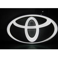 Quality Aluminum / Stainless Steel 3D LED Letters Sign , LED Lighted Business Signs wholesale
