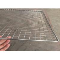 Quality Light Weight Wire Mesh Basket Tray , Wire Cable Tray 100cm*50cm*20cm wholesale