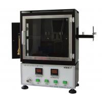 Buy cheap Vertical Combustion Testing equipment Fmvss 302 Flammability Standard 220V from wholesalers