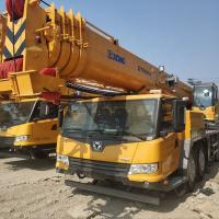 Quality CIVL 50 Tons Hydraulic Mobile Truck Telescopic Boom Crane Especialy For Exporting wholesale