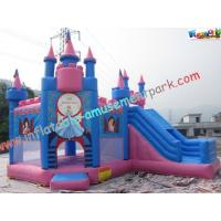 Quality Princess Waterproof Inflatable Party Bouncers With PVC For Water Park wholesale