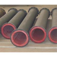 Buy cheap High temperature resistance rubber lined pipe for chemical industry from wholesalers