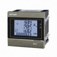China Single-phase Multifunction Digital Power Meter, Suitable for Power Management System on sale