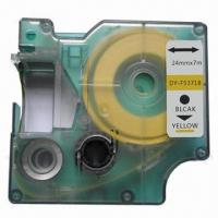 China Compatible Label for DYMO D1 Label Tape Ribbon Cartridge 53718/S0720980 on sale