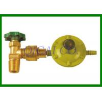 China Brass Propane Gas Fittings , Quick Connecting Valve model YSQ-KJ on sale