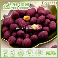 Cheap Purple Sweet Potato Coated Peanuts from Suzhou Youi China for sale