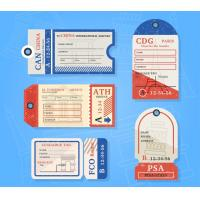 China Personalized custom Printable Luggage Tags for baggage printing service on sale