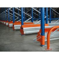 Quality Semi Automatic Radio Shuttle System High Density Pallet Storage Q235B Meterial wholesale