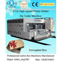 Quality Double Side Automatic Flexo Printer Slotter Die-Cutter Stacker Machine wholesale