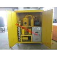 Quality ZYD-E-30 Double Stage Vacuum Transformer Oil Purifier, 1800 L/Hr for Transformer Oil Purification wholesale