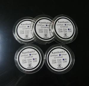 China High Quality e cig Kanthal A1 Heat Wire VAPE DIY wire 20 22 24 26 28 30 32GA/100FT/30m on sale