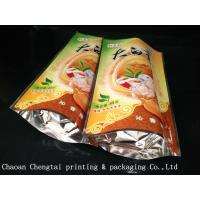 Quality Tea Plastic Packaging 45G Stand Up Pouches With 0 - 9 Colors Digital Printing wholesale