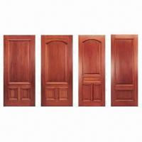 Buy cheap Solid mahogany interior doors with frame and architraves from wholesalers
