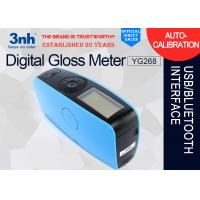 Quality YG268 Tri Angle Digital Gloss Meter Marble Metal Architectural Ceramic Test Machine wholesale