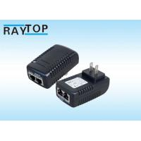 Cheap 48W 24V RJ45 PoE Power Adapter Output Port Power Cable Included For Telecom Charger for sale