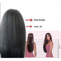 Quality 12 Inch Real Natural Human Hair Wigs Kinky Straight Tangle Free wholesale