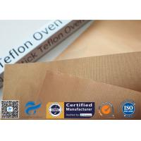 FDA 0.2mm Copper Non Stick Mats For Cooking / BBQ Grill PTFE Oven Pan Liner