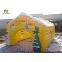 Quality Customized Size Inflatable Advertising Products Christmas House Snowma Tent wholesale