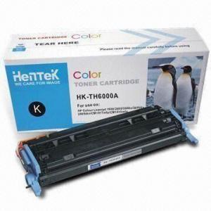 Color Toner Cartridges, Compatible with HP Q6000A/HP6000a