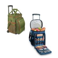 Quality New Picnic Time - Avalanche - Pine w/Lattice Stripe Picnic Cooler Set cooler bag with drink holder cooler bag with hard wholesale