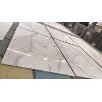 Quality Honeycomb Composite Polished Marble Floor Tiles / White Marble Shower Tile wholesale