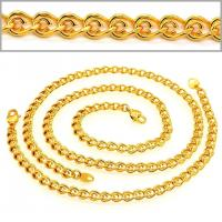 China Korean chain Men & woman Trendy Jewelry Gift Wholesale 18K Real Gold Plated Necklace & Bra on sale
