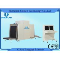 Quality X Ray Scanner Big Dual Energy Baggage Parcel Inspection For Hotel Security wholesale