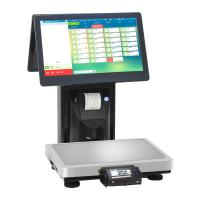 Quality 15kg Touch Screen Barcode Weighing Scales / Electronic Cash Register wholesale