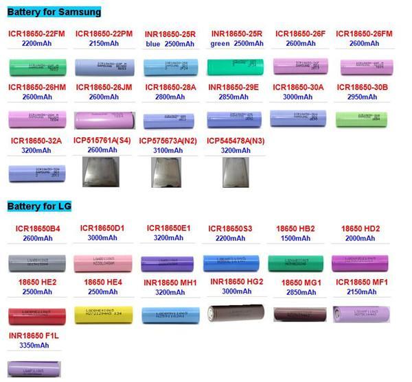 Cheap 5200mah Rechargeable 18650 Lithium Batteries 18650