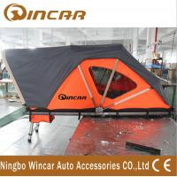 Quality Orange Automotive Roof Mounted Tent 212 * 132cm 250kgs Capacity With Printing Logo wholesale