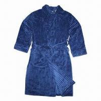 Quality Men's Coral Fleece Robes with Printing wholesale