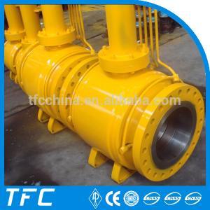 China API 6D underground fully welded ball valve on sale