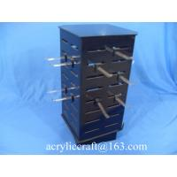 China Custom countertop rotating necklace display case / acrylic jewelry display stand on sale