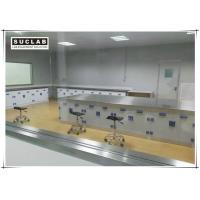 Buy cheap Floor Mounted Chemical Resistant Laboratory Tables With PP Handle from wholesalers