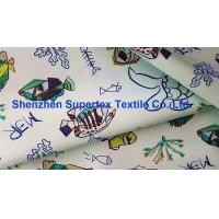 Quality Digital Printed Polyester Digital Print Fabric / Drill Microfiber Peach Upholstery Fabric Hometextile wholesale